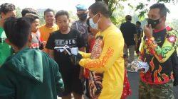 Dandim Gresik Ngetrail Bareng Danrem 084 Bhaskara Jaya Di Desa Tanjung Kedamean