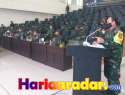 Dirlat Kodiklat TNI AL Pimpin Kaji Ulang dan Evaluasi Latopsduk TA 2021