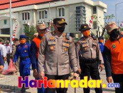 Kapolres Pasuruan hadiri Apel Gelar Pasukan Dalam Rangka Antisipasi Tanggap Bencana Alam