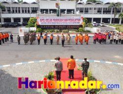 Apel Gelar Pasukan Tanggap Bencana Kabupaten Jember