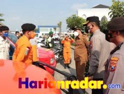 Wabup Sidoarjo Pimpin Apel Gabungan Siaga Bencana, Ratusan Personil Disiapkan