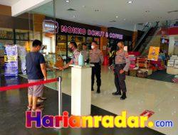 Ops Bina Kusuma 2021, Sat Binmas Polres Tulungagung Sambang Kamtibmas di Pusat Perbelanjaan
